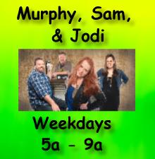 Murphy, Sam, and Jodi